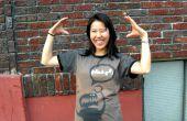 Diseños de camisetas con plantillas y Bleach (actualizado con la imagen de robot para descargar)