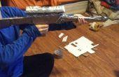 Rifle de francotirador de cinta de ducto/cartón