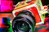 Construcción de cámara de latón shiney para utilizar lentes m42 estándar en películas de formato medio pijo!