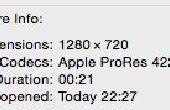 Grabación de vídeo HD (720p) en Max 7