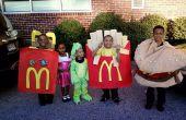 Comida feliz de McDonald ' s hamburguesa