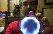 Espejo infinito - lo del Reactor de arco de Tony Stark