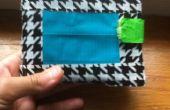 Cómo hacer una billetera de cinta de conducto