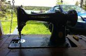 Corregir y restaurar la máquina de coser Vintage cantante