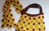 Scarf& bag crochet