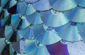 Concepto de material para techos de CD/DVD