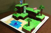 Minecraft mundo pastel