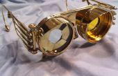 Steampunk Iris de gafas con lentes intercambiables