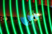 Multi Color luz espada que brilla intensamente - LEDs RGB para pintar con luz.
