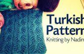 Patrón de la trenza del Turco