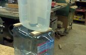 Hacer un sistema de filtro de agua tipo Berky que se ve bien en una cocina