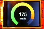 Medidor analógico 'anillo' Arduino pantalla TFT a color