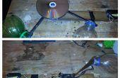 Cómo hacer un viento genera la bombilla. (aerogenerador 2! viento accionada luz!)