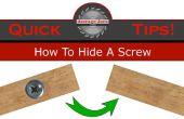 Promedio de Joes consejos - cómo ocultar un tornillo