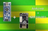 Inalámbrico de control remoto utilizando NRF24L01 de 2,4 Ghz: sencillo Tutorial utilizando NRF24L01 & Arduino