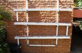 Jardín hidropónico con clip de pared