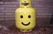 Tanque LEGO cabeza líquido propano (gas LP)