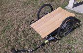 Convertir una bicicleta niño remolque en un remolque de carga