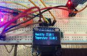Arduino Nano con sensor DHT y OLED