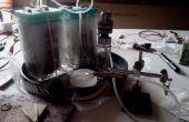 Soplete de HHO de 240v corriente alterna mediante un soldador de arco y puente rectificador
