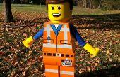 Traje de figura lego de Emmet de la película de LEGO