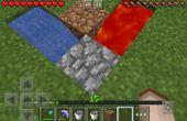Cómo hacer un generador de piedra adoquín fácil de super duper MCPE