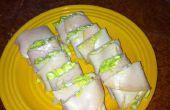 """Ensalada de huevo de paleo """"Sushi"""""""