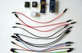 Arduino y Visuino: uso GPIO de I2C PCF8574/PCF8574A para añadir más canales digitales al Arduino