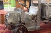 Camión de juguete Mack AC Bulldog--Parte 4--cabina y capó del motor