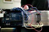 Exhibición de segmento de Arduino común ánodo 7