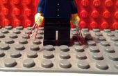 Lego wolverine garras sangrientas del metal