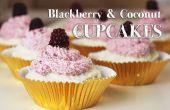 Cómo hacer Blackberry y pastelitos de coco