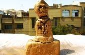 """Hacer su estatua del trabajo hecho a mano con """"sofal"""", menos de 1$"""