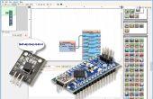 Arduino Nano: Leer DS1820/DS18S20 Maxim un cable termómetro dirección con Visuino
