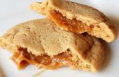 Caramelo relleno de manzana sidra Cookies