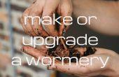 Realizar o actualizar un compostador de lombriz