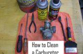 Limpieza de un carburador en 8 pasos!