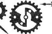 Hacer RetroTech: Un Steampunk / reloj / engranaje fuente