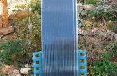 Panel térmico solar de partículas