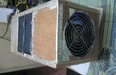 Ion de aire filtro uv