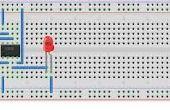 Luz simple basado en sensor de proximidad