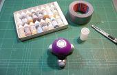 Agitador de pintura de miniaturas barato y fácil