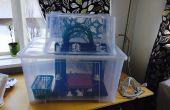 Caja para Impresora 3d utilizando cuadro de Ikea