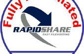 Automático de la descarga de Rapidshare