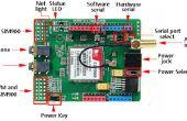 Shield Arduino y SIM900. Fácil de usar.