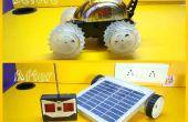 RC coche Robot Solar maquillaje