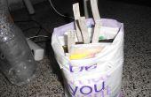Cómo organizar bolsas de plástico