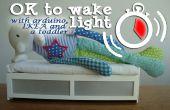 ' OK para despertar' en el reloj para su niño