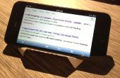 Avión billete Smart Phone Holder