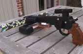 Ballesta de pistola (steampunk o estilo militar)